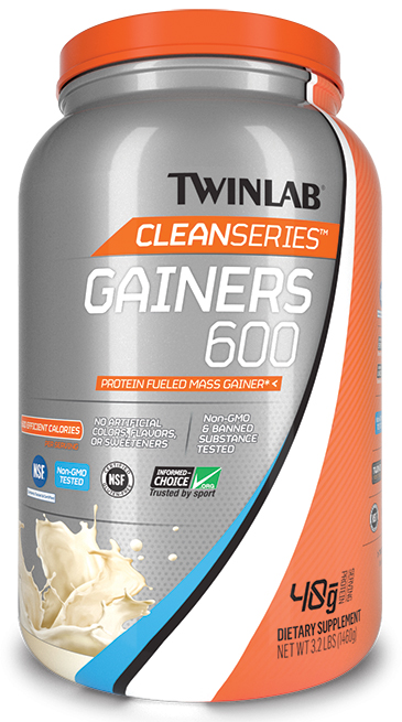 Банка Гейнер Twinlab Clean Series Gainer 600, 1460 г