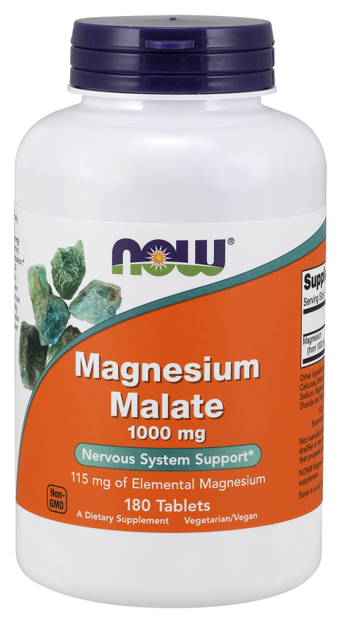Magnesium Malate 1000mg, 180 таблеток