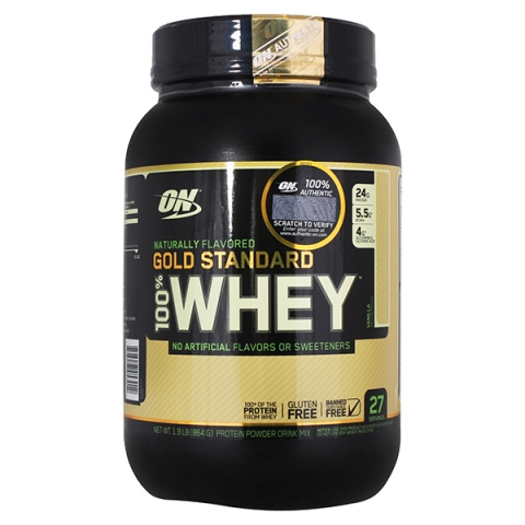Optimum Nutrition 100% Whey Gold Standard Natural 860 грамм