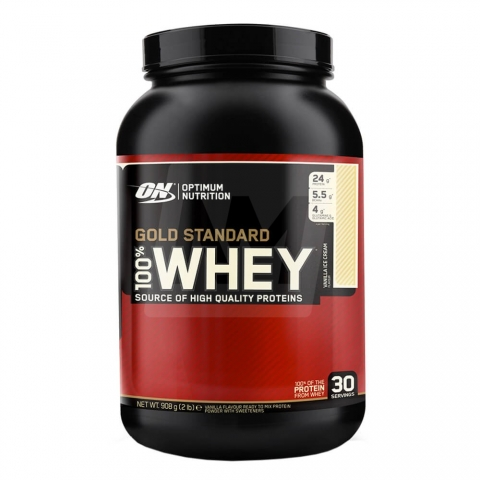 Optimum Nutrition 100% Whey Gold Standard, 908 г