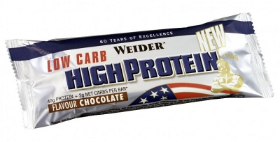 Батончик Weider Low Carb High Protein (40%)