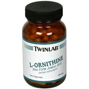 Фото Аминокислоты Twinlab L-Ornithine 500mg 100 капсул