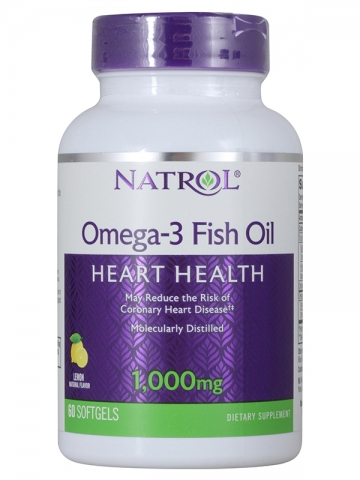 Рыбий жир Natrol Omega-3 Fish Oil 1000 mg
