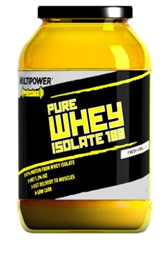 Упаковка Протеин Multipower Whey Isolate 100, 2250г