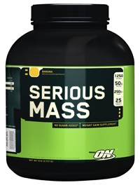 Упаковка Гейнер Optimum Nutrition Serious Mass, 2727 г