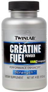 Фото Креатин Twinlab Creatine Fuel Powder 300г