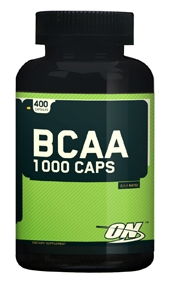 Упаковка Optimum Nutrition BCAA 1000, 200 капсул