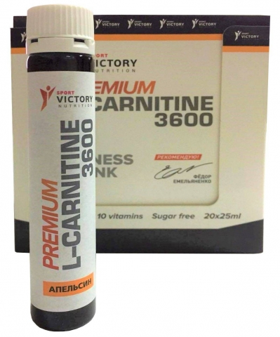 Sport Victory Nutrition Premium L-Carnitine 3600, 25 мл