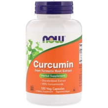 NOW CURCUMIN EXTRACT 95% 665 мг 120 капс